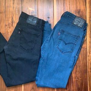 Bundle 2 pairs of Men's Levi's